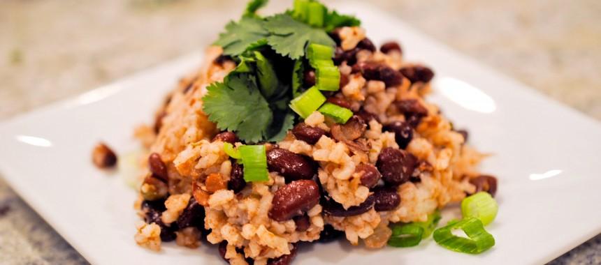 Coconut Beans & Rice