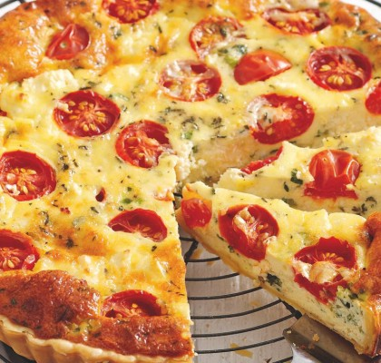 tomato-quiche